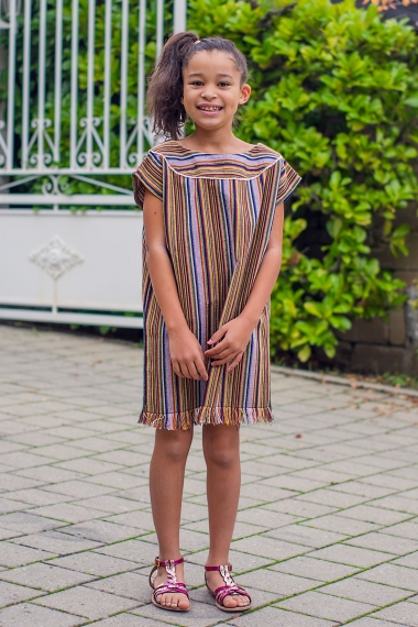 Orianne cotton kids kaftan