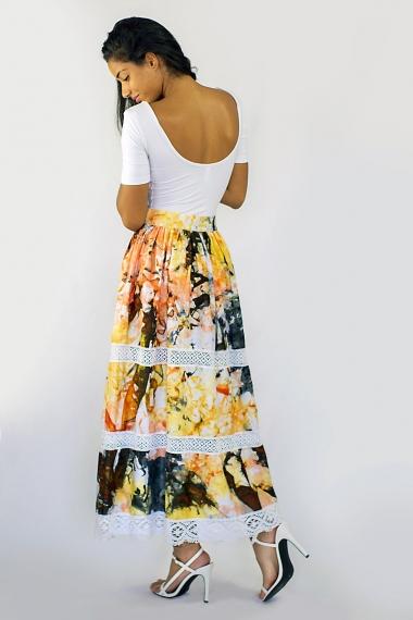 longue jupe africaine