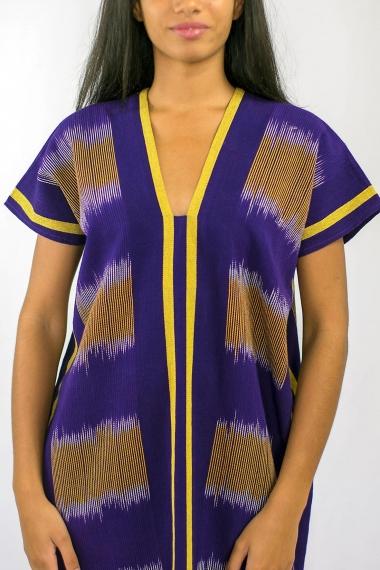 Caftan Violette africaine