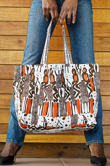 Cotton bag ethnic printed