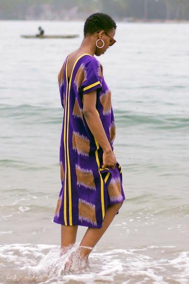 Caftan de plage africain