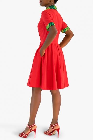 Robe chic rouge