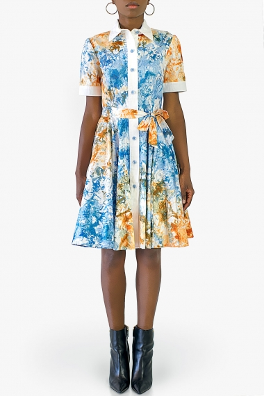 Hélène shirt dress