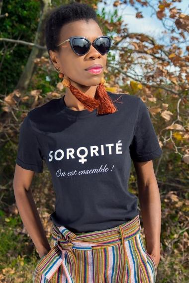 Sorority organic T-shirt