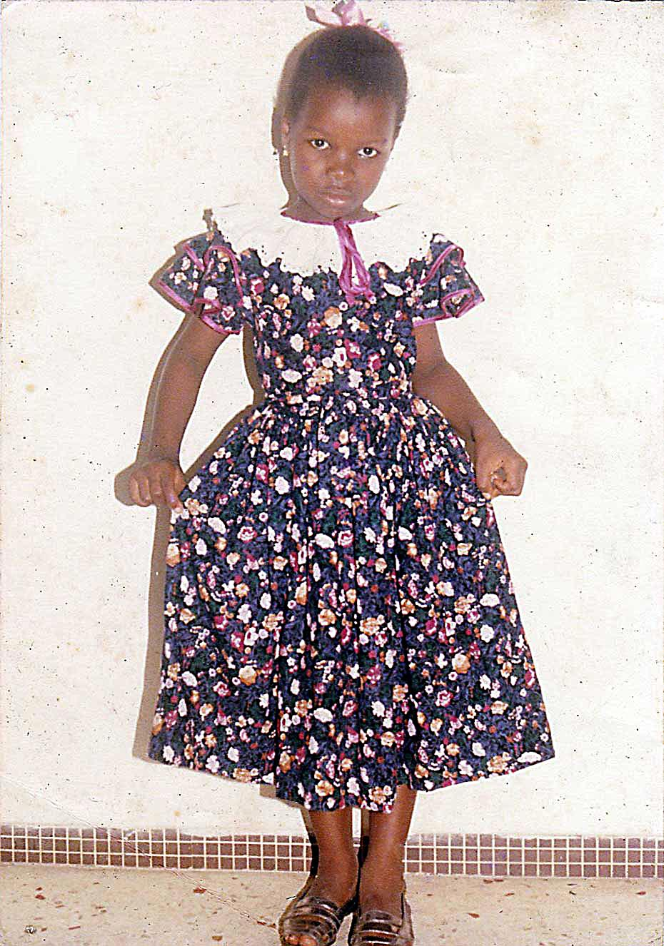Lynda Cazilhac enfant